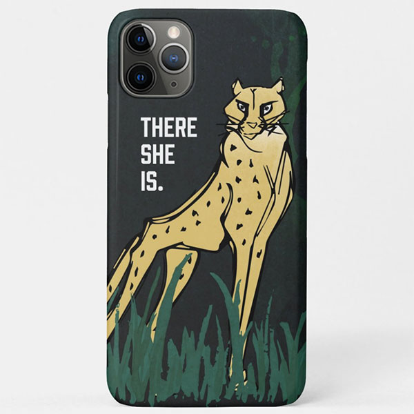 Untamed Cheetah Case
